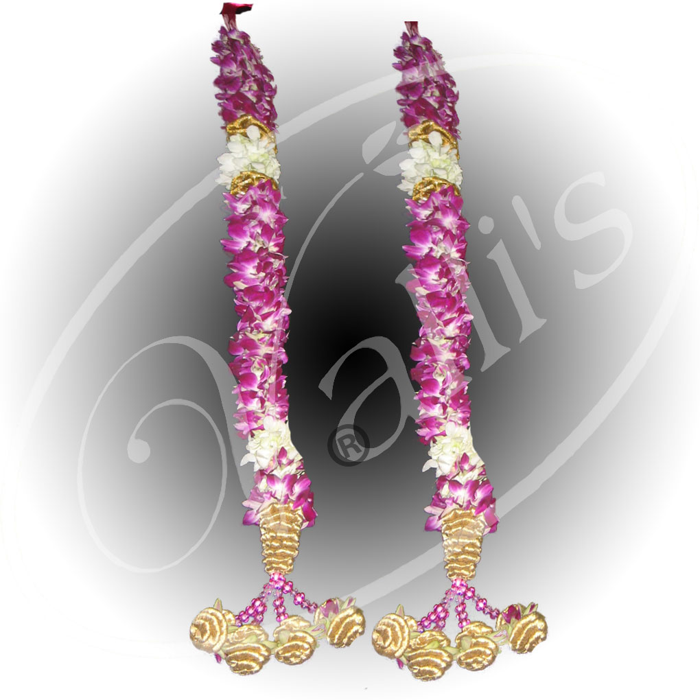 Orchid Open Garland